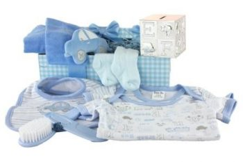 Tippy Toes Baby Boy Gift Box