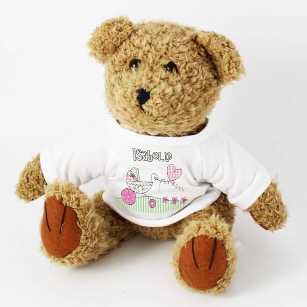 Personalised Baby Girl Teddy