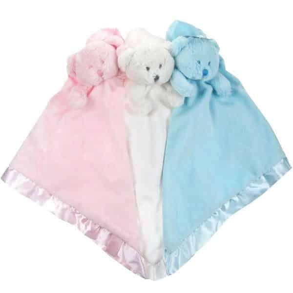 Baby Teddy Comforter