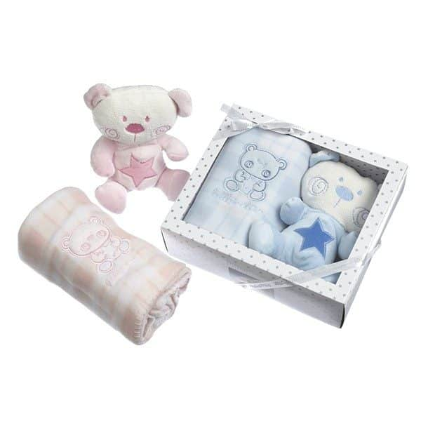 Blue Gift Set by Pitter Patter