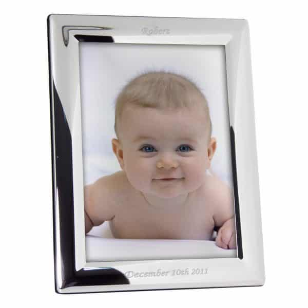 Personalised Silver 5x7 Photoframe