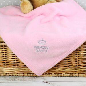 Personalised Princess Blanket
