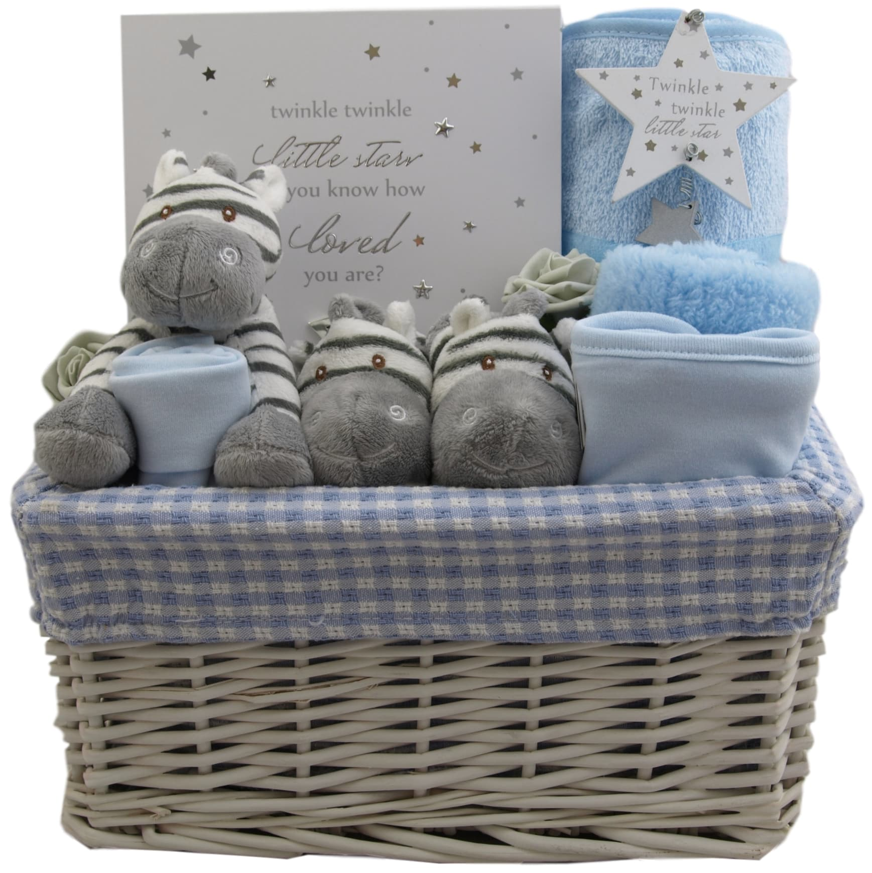 Baby Gift Hamper Uk : How loved you are baby boy hamper gift