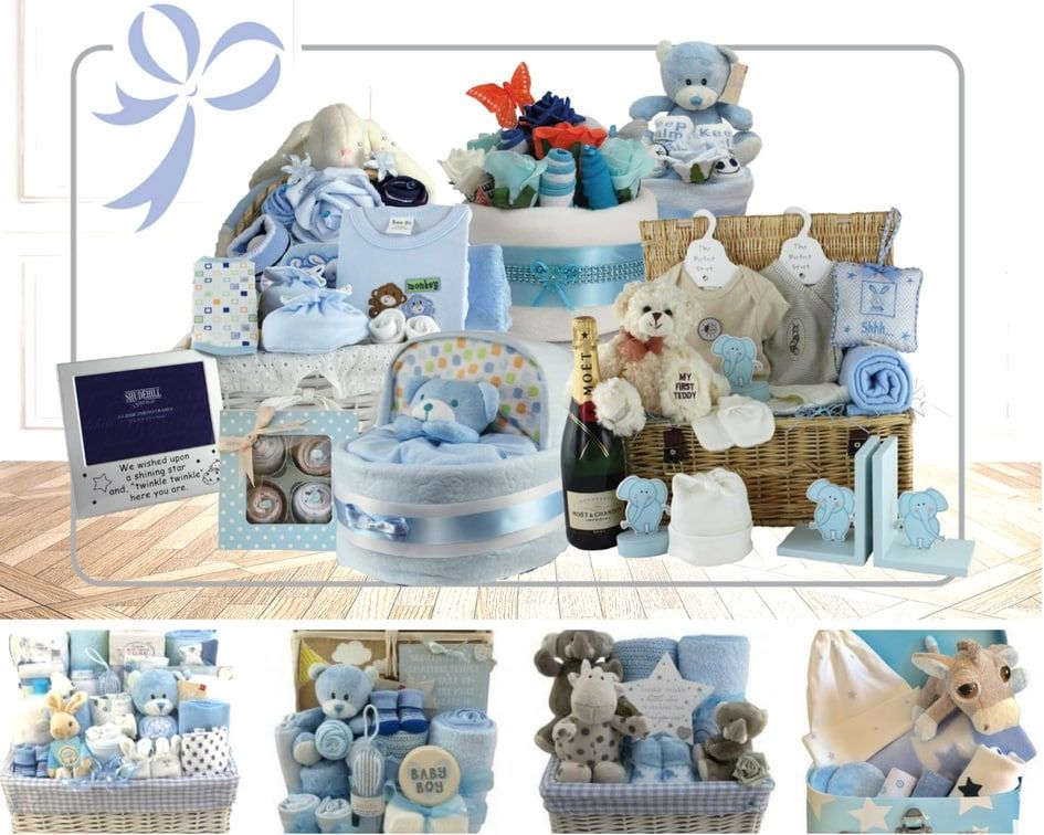 Baby hamper gift newborn baby gifts luxury and personalised hampers negle Gallery