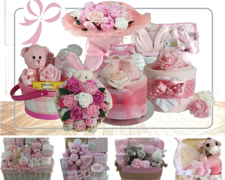 Baby hamper gift newborn baby gifts luxury and personalised hampers negle Choice Image